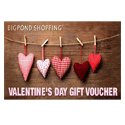 Valentine's Day Shopping Voucher from BigPond Shopping